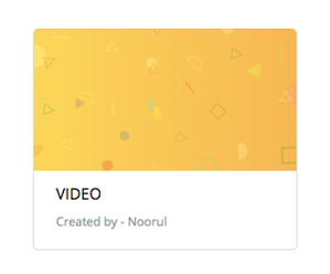 Organize videos into categories